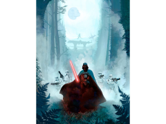 Star Wars Vengeful Pursuit Lithograph