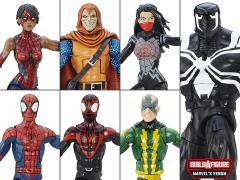 Spider-Man Marvel Legends Wave 4 Set of 6 (Space Venom BAF)