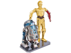 Star Wars Metal Earth R2-D2 & C-3PO Model Kit (The Force Awakens)