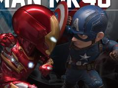 Captain America: Civil War Egg Attack EA-025 Captain America vs. Iron Man MK46