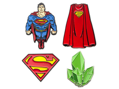 DC Comics Superman Enamel Pin Set