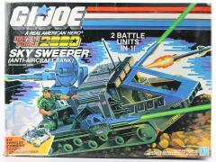 G.I.Joe Battle Force 2000 Sky Sweeper (Ant-Aircraft Tank)