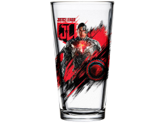 Justice League Toon Tumblers Cyborg Pint Glass