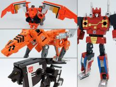 Transformers Masterpiece MP-15/16-E Cassettebot Vs Cassettetron Set Exclusive (With Collector Coin)