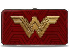 DC Comics Wonder Woman Logo Hinged Wallet
