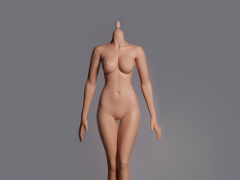 Hot Stuff 1/6 Scale Female Slim Body 3rd Generation (Tan Cone Joint)