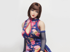 1/6 Scale Female Qi Pao Character Set - Anna (Blue)