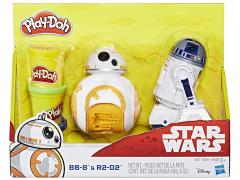 Star Wars Play-Doh BB-8 & R2-D2 Set