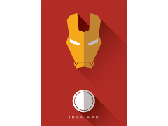 Marvel Iron Man High Gloss Canvas Art