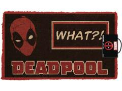 Marvel Deadpool What? Door Mat