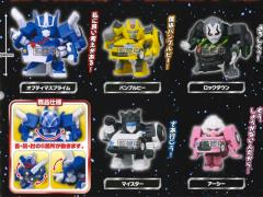 Q Transformers Cute Transformer Figure - Bag of 5