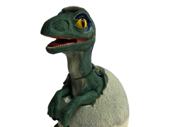 Jurassic World Blue Raptor Hatchling Premium Motion Statue