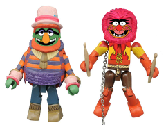 The Muppets Minimates Series 2 Dr. Teeth & Animal