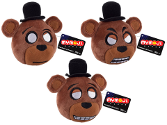 Five Nights at Freddy's MyMoji Plush Three Pack - Freddy