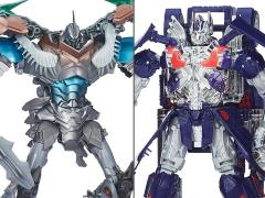Transformers Platinum Edition Leader Grimlock & Optimus Prime Two Pack BBTS Exclusive