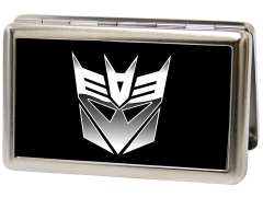 Transformers Decepticon Logo Metal ID Wallet