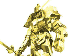 Gundam Metallic Nano Puzzle Premium Barbatos (Gold Ver.) Exclusive Model Kit
