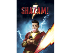 Shazam Electric Hero MightyPrint Wall Art