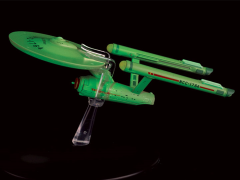Star Trek Starships Collection Bonus #6 USS Defiant (Glow In the Dark)