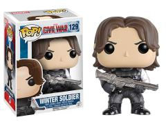 Pop! Marvel: Captain America: Civil War - Winter Soldier