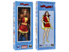 "DC World's Greatest Heroes Mary Marvel Mego Style Boxed 8"" Figure"