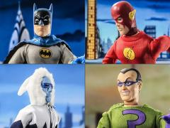 "Super Friends World's Greatest Heroes Series 3 Retro 8"" Figures Set of 4"