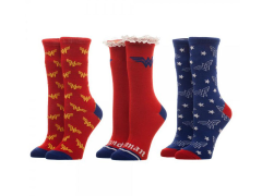 Wonder Woman Crew Socks 3 Pack