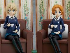 Girls und Panzer figma No.406 Darjeeling & Orange Pekoe Set