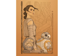Star Wars Beyond Jakku Lithograph (The Force Awakens)