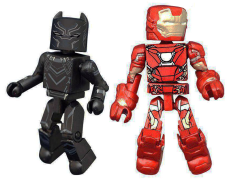 Captain America: Civil War Minimates Iron Man Mark 46 & Black Panther