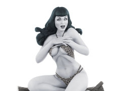 Bettie Page (Black & White) Limited Edition Statue