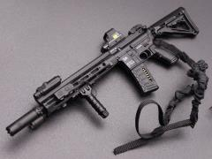 HK416 Assault Rifle (D) 1/6 Scale Weapon Set