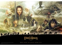 The Lord of the Rings The Journey MightyPrint Wall Art
