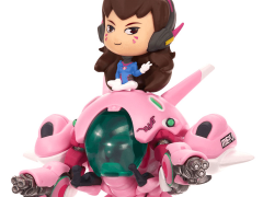 Overwatch Cute But Deadly D.Va With MEKA Vinyl Figure