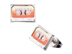 Guardians of The Galaxy Awesome Mix Vol. 2 Tape Stud Earrings