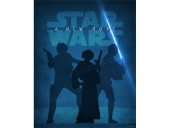 Star Wars A New Hope Lithograph