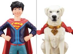 DC Comics Super Sons ArtFX+ Jonathan Kent & Krypto 1/10 Scale Statue Two-Pack