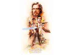 Star Wars Finding a Balance Lithograph