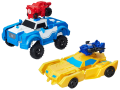 Transformers Robots in Disguise Combiner Force Activator Combiner Wave 1 - Set of 2