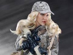 1/6 Scale Digital Camouflage Women Soldier - Max