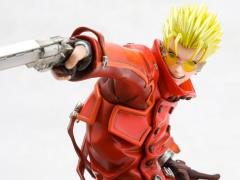 Trigun ArtFX J Vash The Stampede (Renewal Package Ver.) Statue
