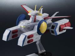 Gundam Kikan Taizen E.F.S.F. Pegasus Class Assault Landing Craft White Base 1/1700 Scale Ship