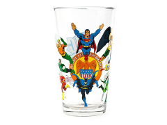 DC Comics Toon Tumblers Justice League of America Pint Glass