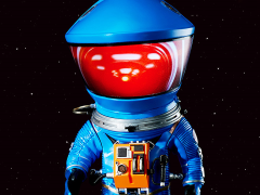 2001: A Space Odyssey Deform Real Discovery Astronaut (Blue)