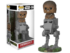 Pop! Deluxe: Star Wars: Return of The Jedi - Chewbacca With AT-ST
