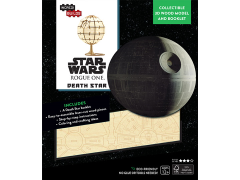 Star Wars IncrediBuilds Death Star Book & 3D Wood Model Kit