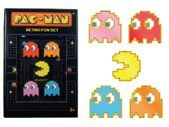 Pac-Man Retro Pin Set