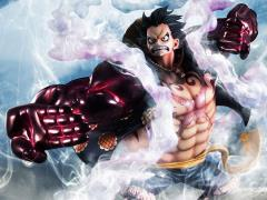 One Piece Portrait of Pirates Excellent Model Luffy (Gear 4) LE