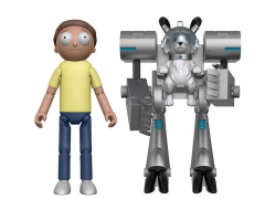 "Rick and Morty Series 1 Morty 5"" Articulated Action Figure (Snowball Parts)"