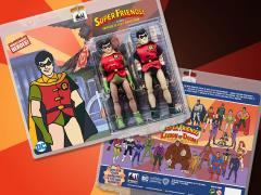 "Super Friends World's Greatest Heroes Robin (Universe of Evil) 8"" Retro Figure Two-Pack"